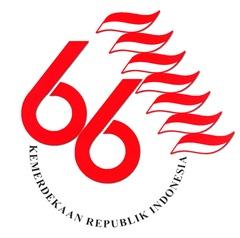 Logo 66 tahun