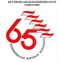 Logo HUT RI Ke 65