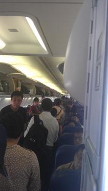 Boarding macet