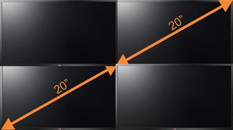 TV 20 Inch vs 40 Inch